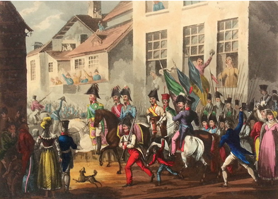 Entrance of the Allies into Paris 1814